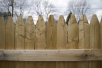 Cloture en bois pour jardin