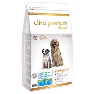 Croquettes sans cereales chien sensible agneau ultra premium
