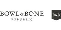 Bowl and bone logo
