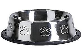 Gamelle en inox ronde pour chien