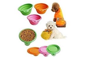 Gamelles pliables pour chien