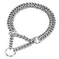 Collier semi-étrangleur en chaîne pour chien Nobby
