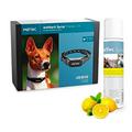 Collier anti-aboiement à pulvérisation pour chien PetTec